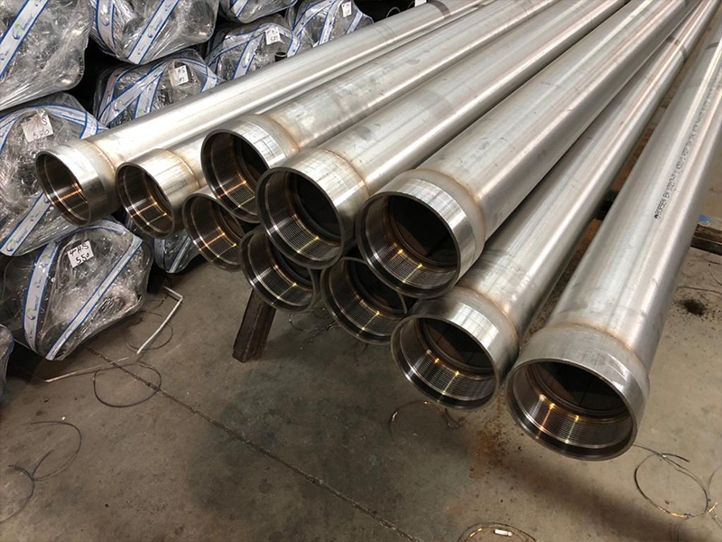 O- AISI 304-316 L Stainless Steel Fixed Coupled Zero-Ring Column Pipes (Up to 600m)